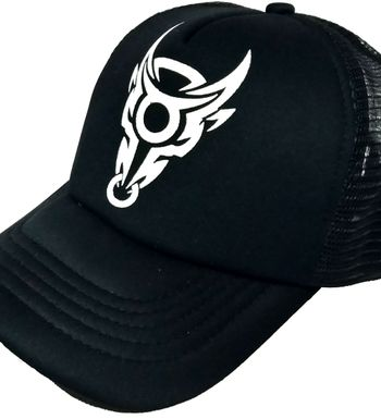 2050f333f12 FRIENDSKART Printed Bull Printed In Black Colour Half Net Cap