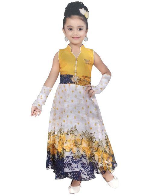 4a7286ae6 Cute Fashion Kids Girls Baby Princess Popcorn Net Party Wear Flower ...
