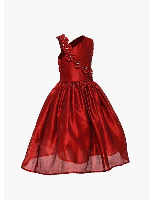 00b1306eb0da Samsara Couture Girl s Wedding Party Wear A-Line Ball Gown Dress ...
