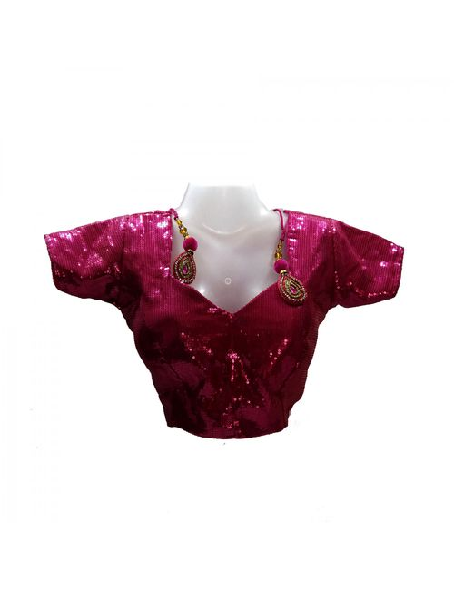 31f0360f7a9a3 LIBRA FASHION WOMEN S DESIGNER BLOUSES PURPLE SEQUIN WITH PADDED