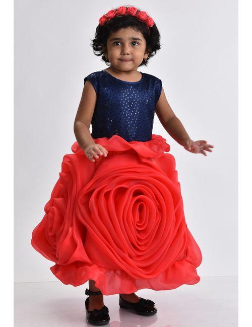 8d1b7aaffb7e Red Rose Design Dress