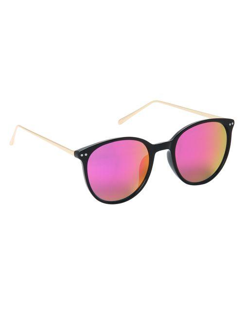 0d336537faa4 Hot Pink Reflector Sunglasses