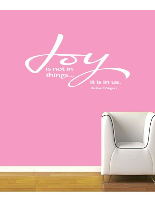 Joy Is In Wall Quotes Decal Rzym0077wh