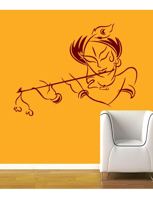 radha krishna wall decal rzym0140ma