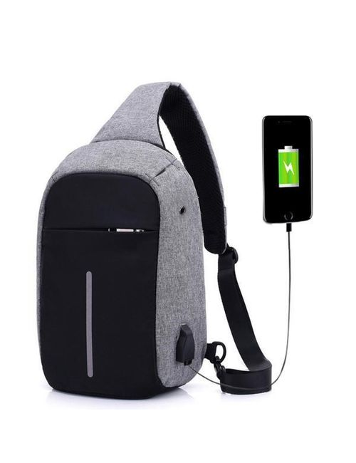 57ff21e09f Anti-theft Laptop Backpack Business Bag with USB Charging Port Water  Resistant School College Travel Hiking Camping Organizer Bag for 15.6-Inch  Laptop