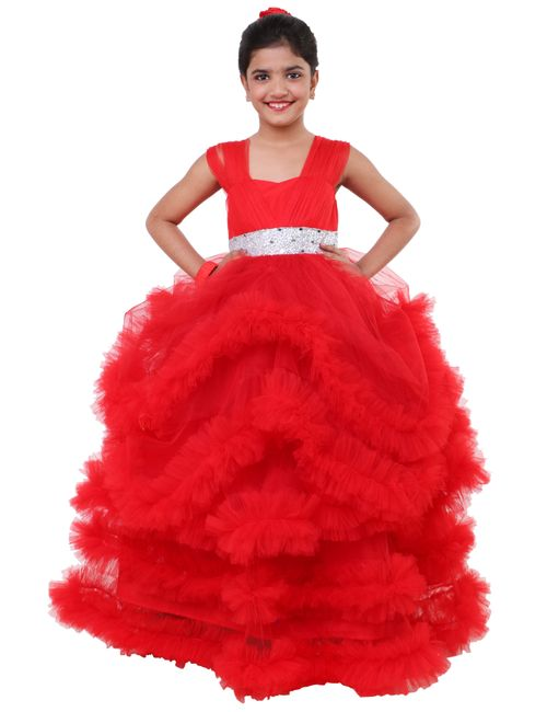 7ed12ad7a07a Sofyana Flower Girl Wedding Dress Tutu Kids Party Dresses For Girl ...