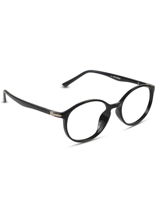 96dbff88db Eyewearlabs.com- Round Glasses Premium Spectacle Full Frame Eyeglasses For  Men Women Unisex -- Size  Medium