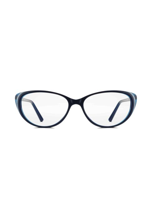 98a492ab2ea2 REACTR- Cat Eye Glasses Premium Spectacle Full Frame Eyeglasses For Women  (Green-53-Clear-Rx-able-EL201-C8)