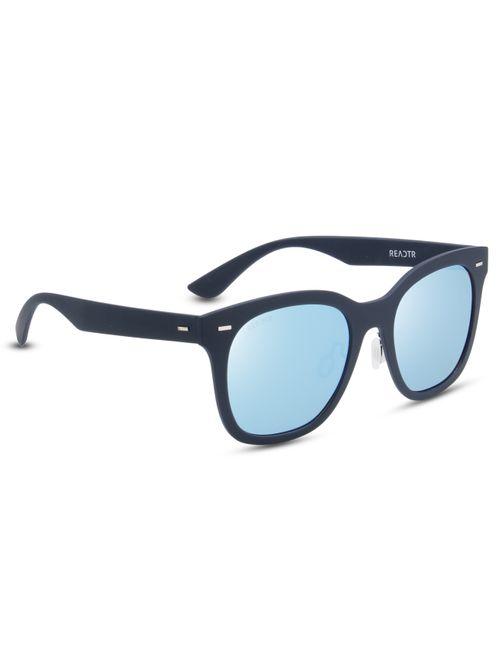 38122de1de REACTR Polarized Sunglasses for Men Women Black Blue Lens ...