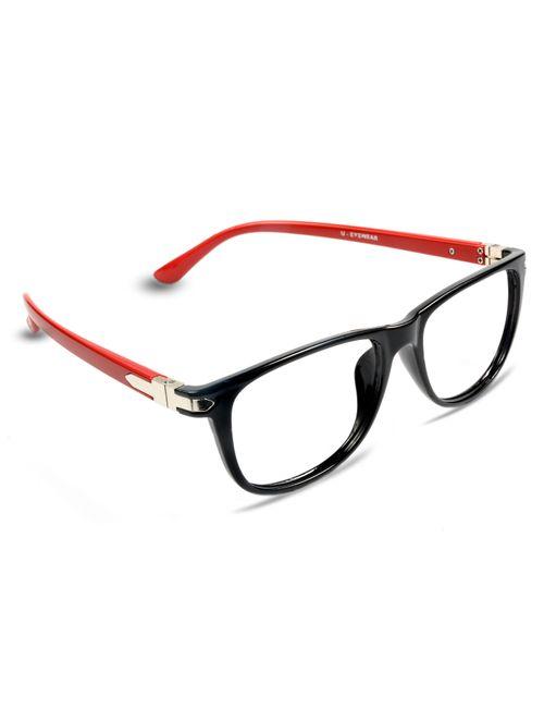 77de910ccd REACTR- Square Glasses Premium Optical Specs Full Frame Eyeglasses For Men  Women 54