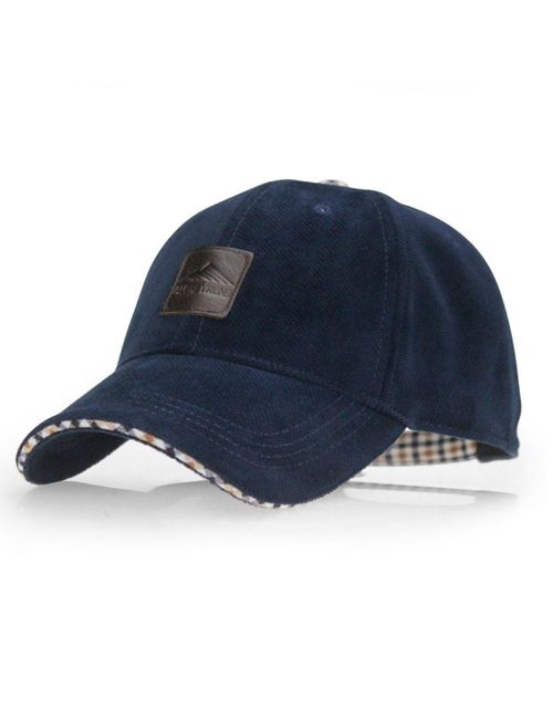 45fd445b857 Novasox Velour fabric Navy Blue Unisex Baseball Cap