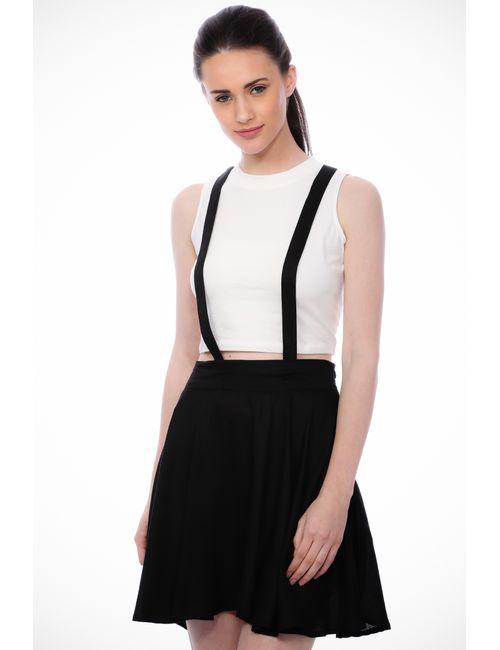 eb8e2256e7e Scorpius Black Dungaree Skirt