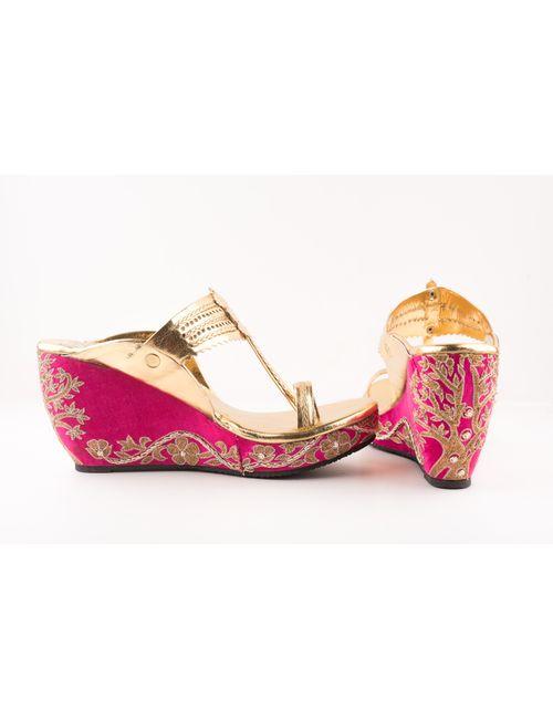 86130763b144 pink-embroidered-kolhapuri-wedges-1507801736fid-main.jpg