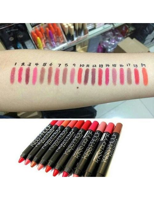 No 14 PURPLE RED MeNow KISSPROOF Powdery Matte Soft Lipstick Lip Crayon Source · 13975681 c823e72c f624 45ce a781 e787c1853f64 640 640 1510485638 jpg