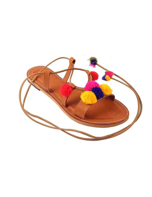 7d46e190a06d Star Ethnic Gladiators Women Sandals