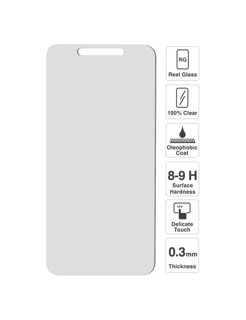 Oppo A71 Premium Tempered Screen Protector Glass - Scratch Proof, Shatterproof Screen Guard, Oleo phobic Coating, Explosion Proof Protective Anti Glare ...
