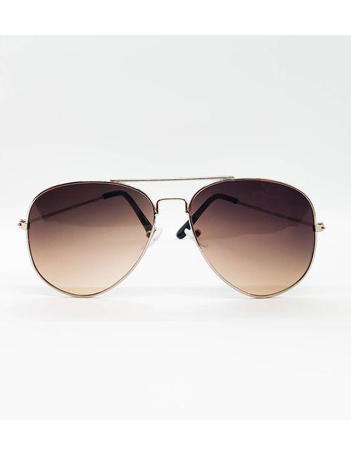 597e5ad681c Skygge Original Aviator Silver Frame Dual Shade Lens UV Protected Unisex  Sunglasses