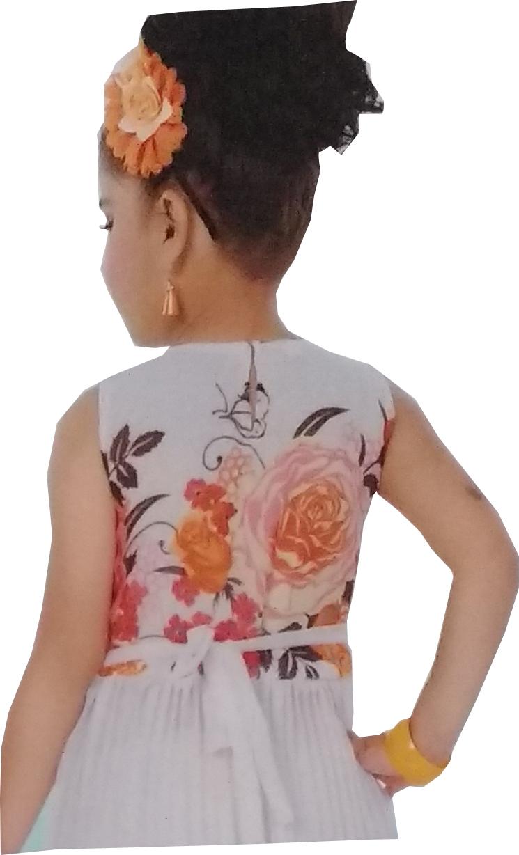 36de35878 Cute Fashion Kids Girls Baby Princess Sifone Party Wear Flower ...