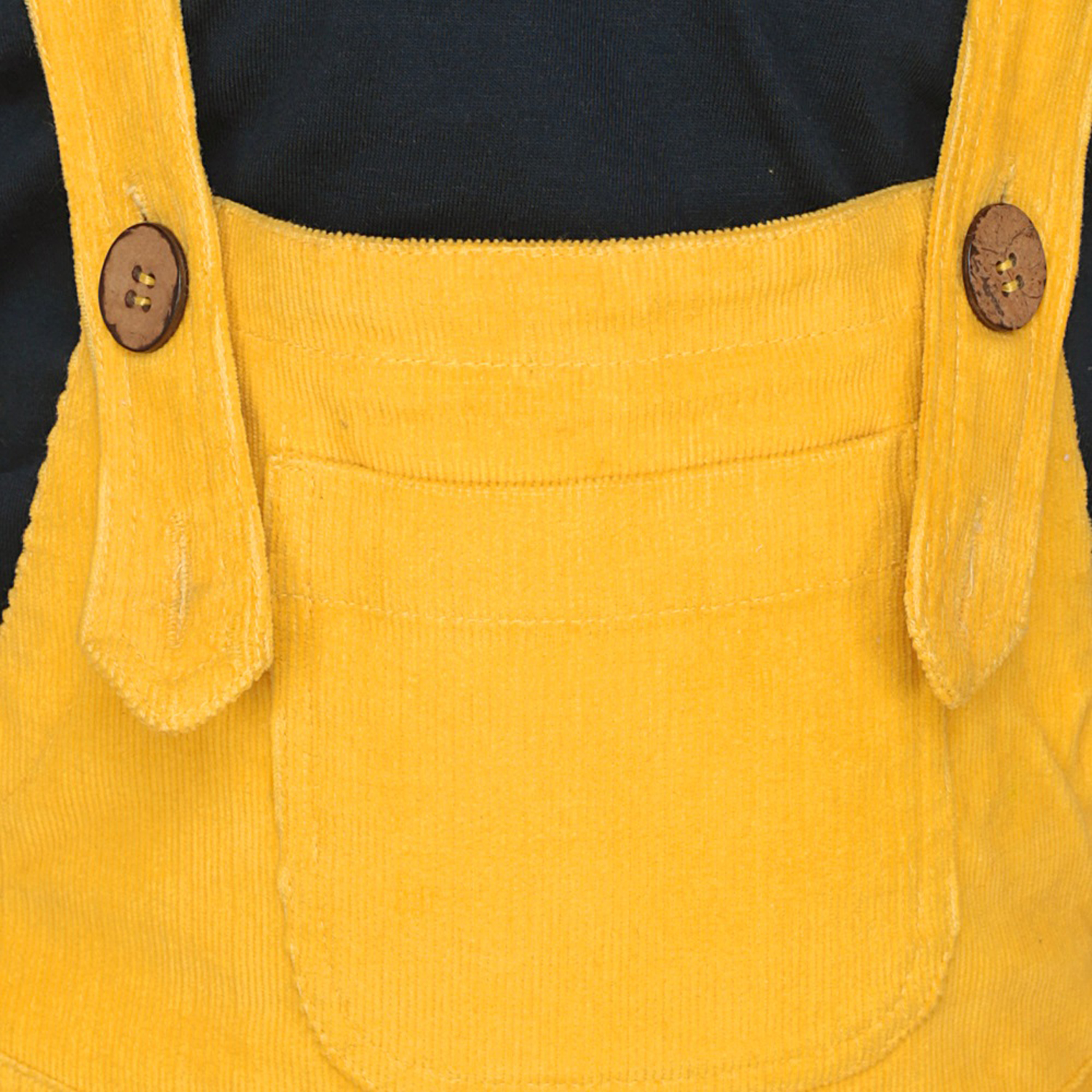 ffaa4ffa6 Olele Mustered Yellow Corduroy Dungaree For Boys   dungaree for kids ...