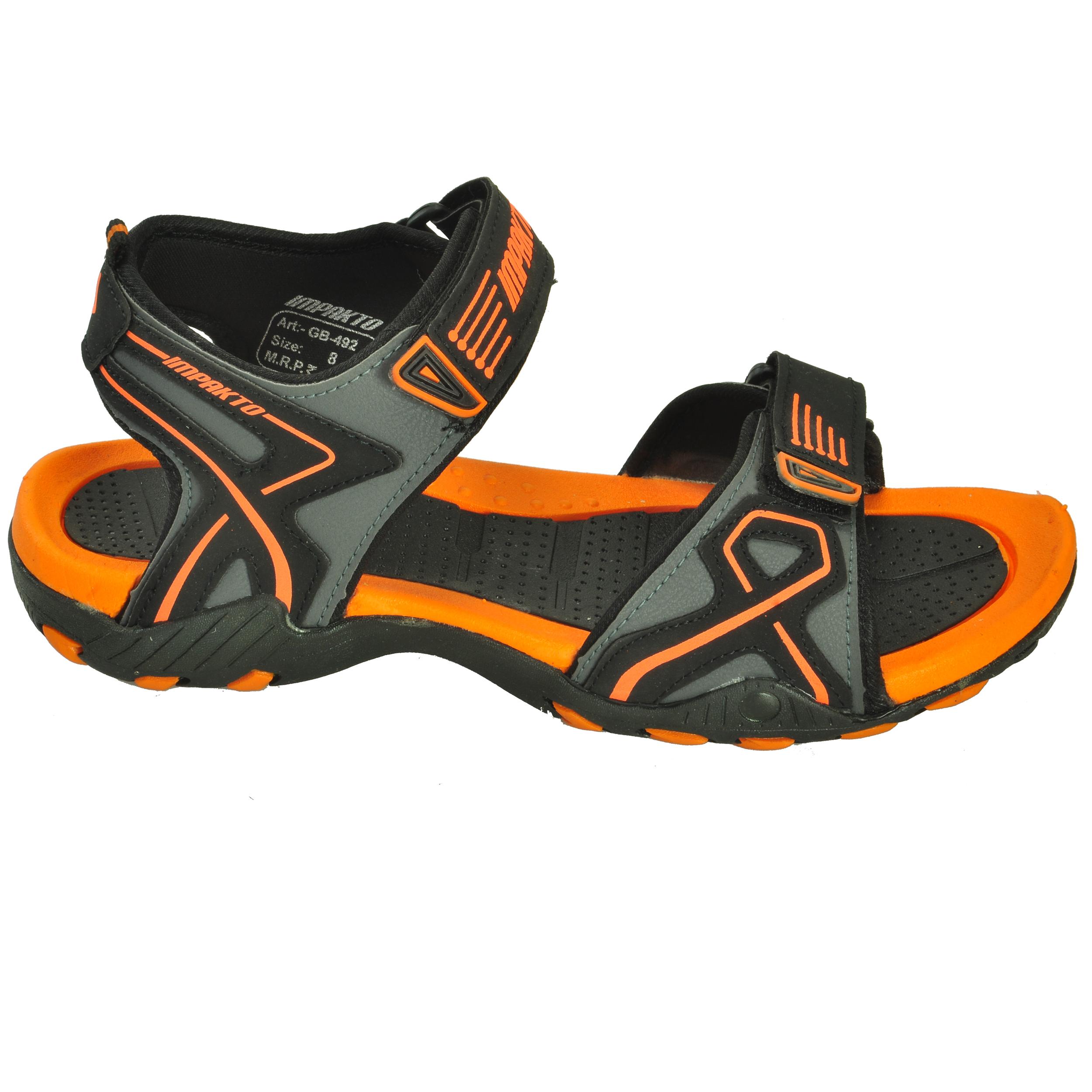4f25406aa Impakto Men s Classy Sandal Slipper - Orange