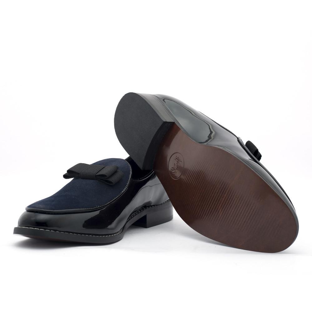4b511e71f6eb79 Delta Belgian Loafers - Black Blue