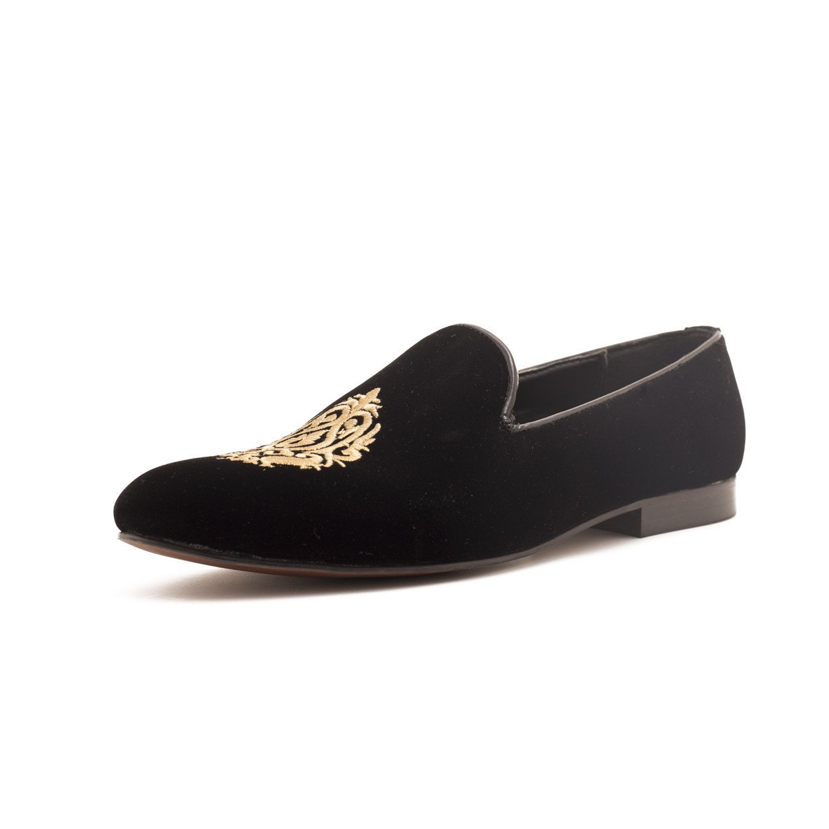 7b682d6efef Dublin Black Velvet Loafers