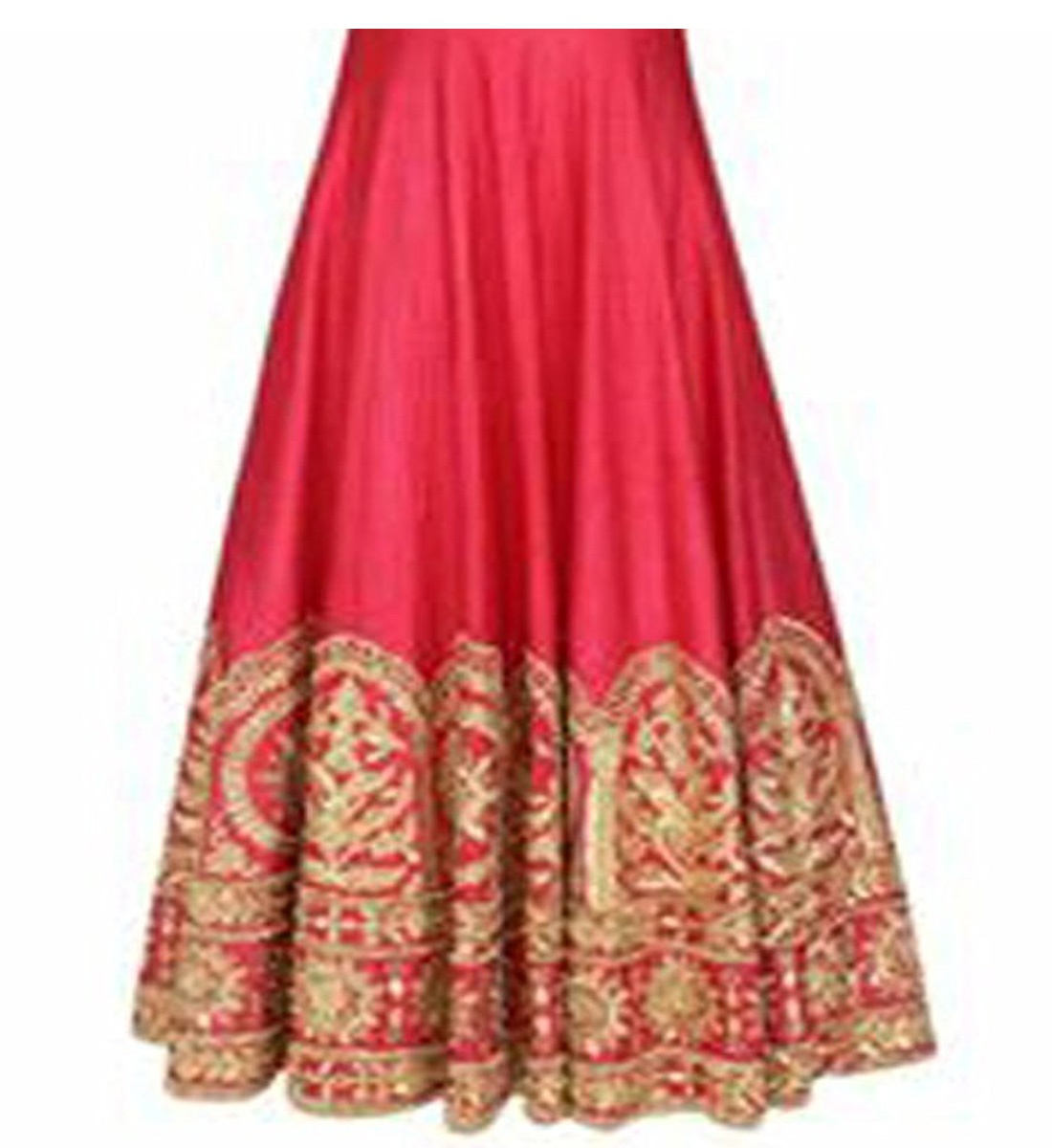 b7d6221d860 Gown for Women Banglori Silk Pink Free Size ( Upto XXL ) Gown (GOWN00164)