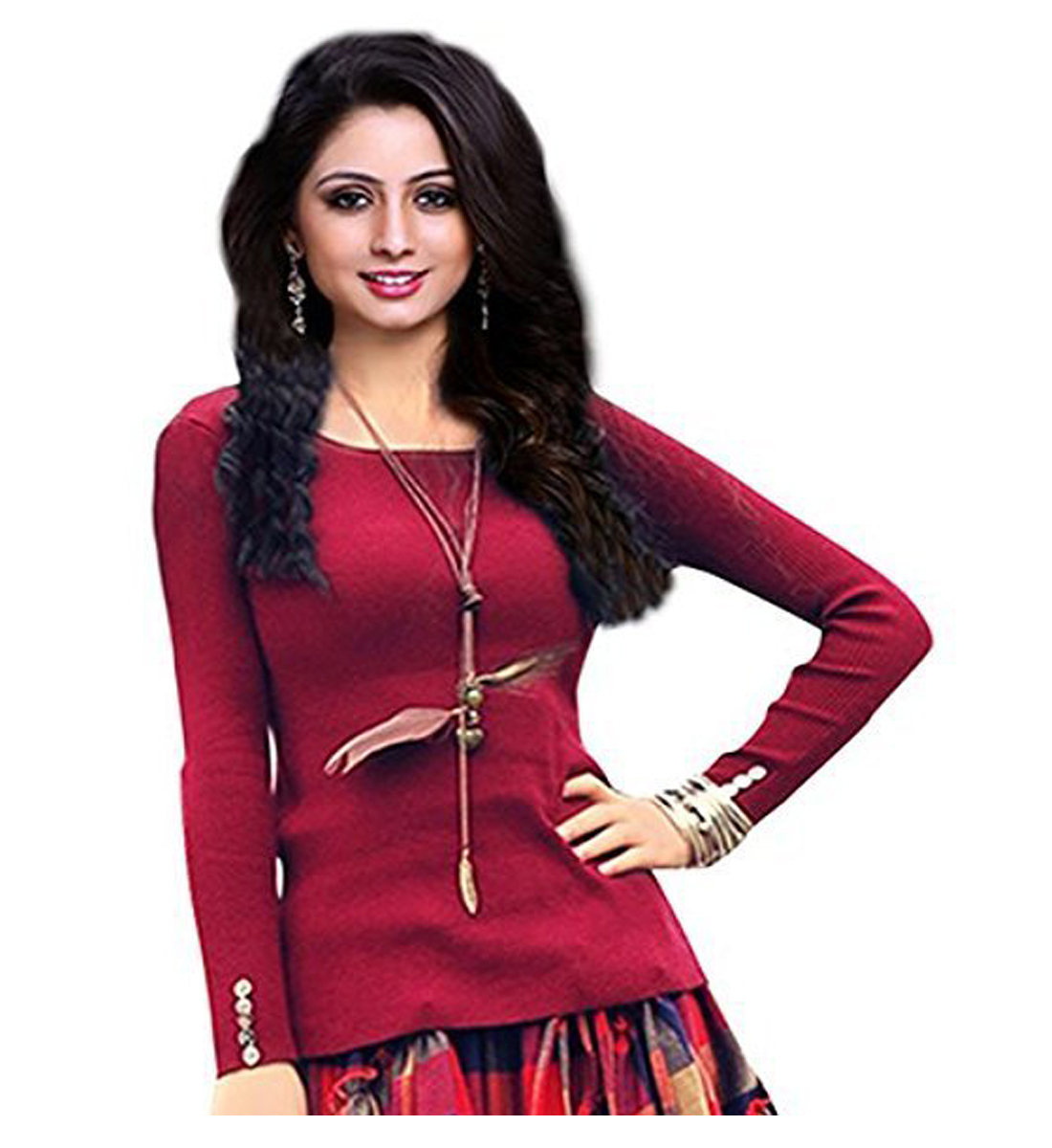 92a64c5e6fc Gown for Women Banglori Silk Red Free Size ( Upto XXL ) Gown (GOWN00203)