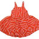NAICHI BANDHANI SILK BABY GIRL DRESS