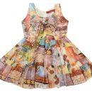 NAICHI GEORGETTE BABY GIRL DRESS