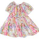 NAICHI TABBY SILK BABY GIRLS DRESS