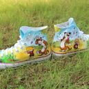Hand Painted Calvin & Hobbes Converse Shoes