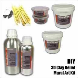 Mural supplies buy mural supplies online in india at kraftly diy 3d mural art kits 3d clay relief combo pack do it yourself kit solutioingenieria Image collections