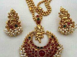 Isha Collection Ganesh Traditional Jewellery
