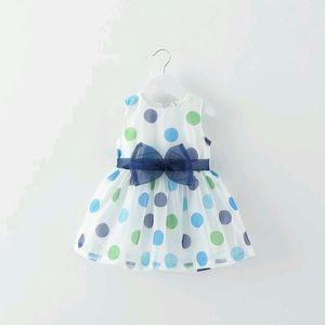 Colorful Polka Dots Baby Dress
