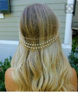 Stylish Pearl Head Chain