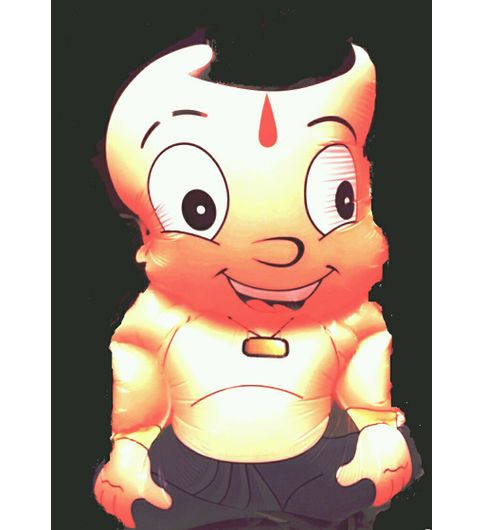 buy choota bheem set of 5 inflatable baloons at lowest price