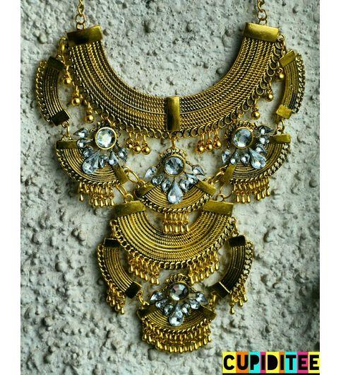 Glam Gold Neckpiece