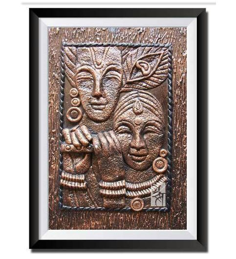 buy 3d clay relief wall art handcrafted at lowest price