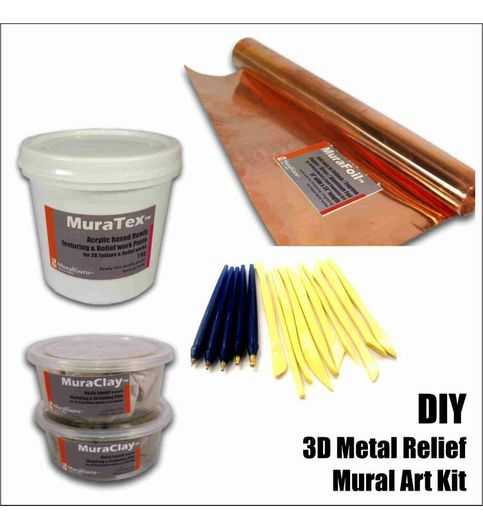 Buy diy 3d mural art kits 3d metal relief combo pack do it diy 3d mural art kits 3d metal relief combo pack do it solutioingenieria Image collections