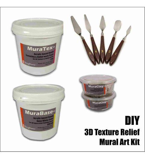 Buy diy 3d mural art kits 3d texture relief combo pack do it diy 3d mural art kits 3d texture relief combo pack do it solutioingenieria Images