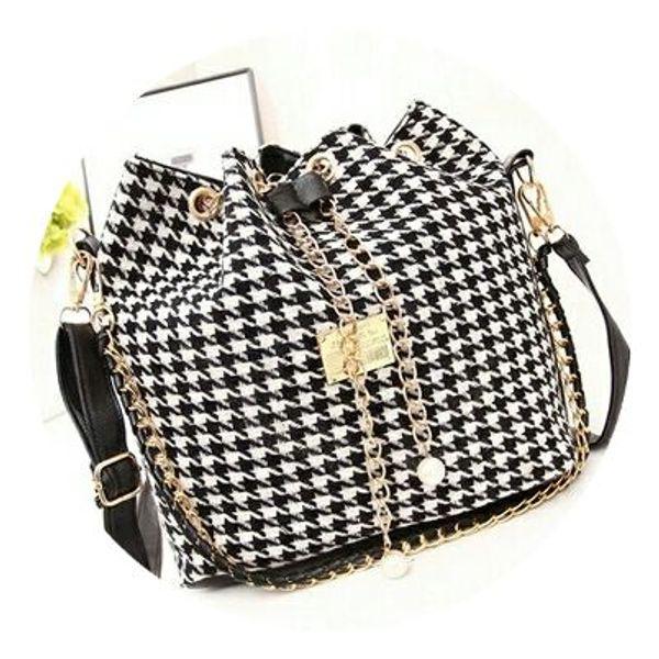 Black And White Sling Bag