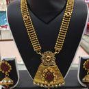 Copper long necklace