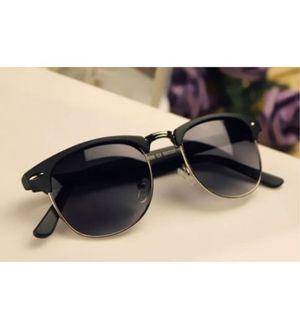 Sunglasses Black Trendy Clubmaster Goggles