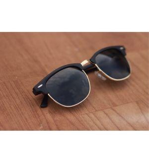Sunglasses Black Clubmaster style Goggles
