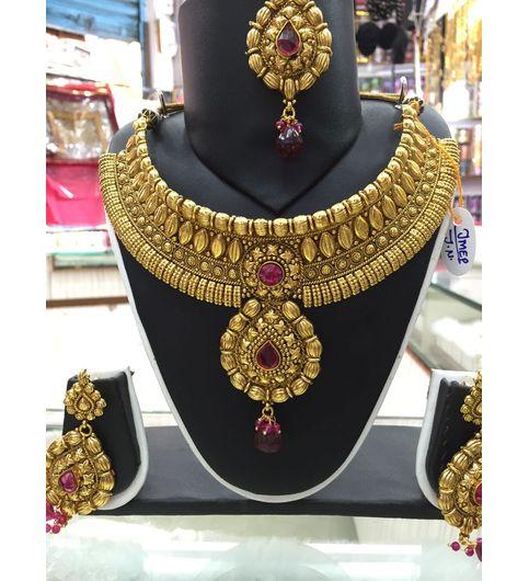 Chokar copper neckpiece
