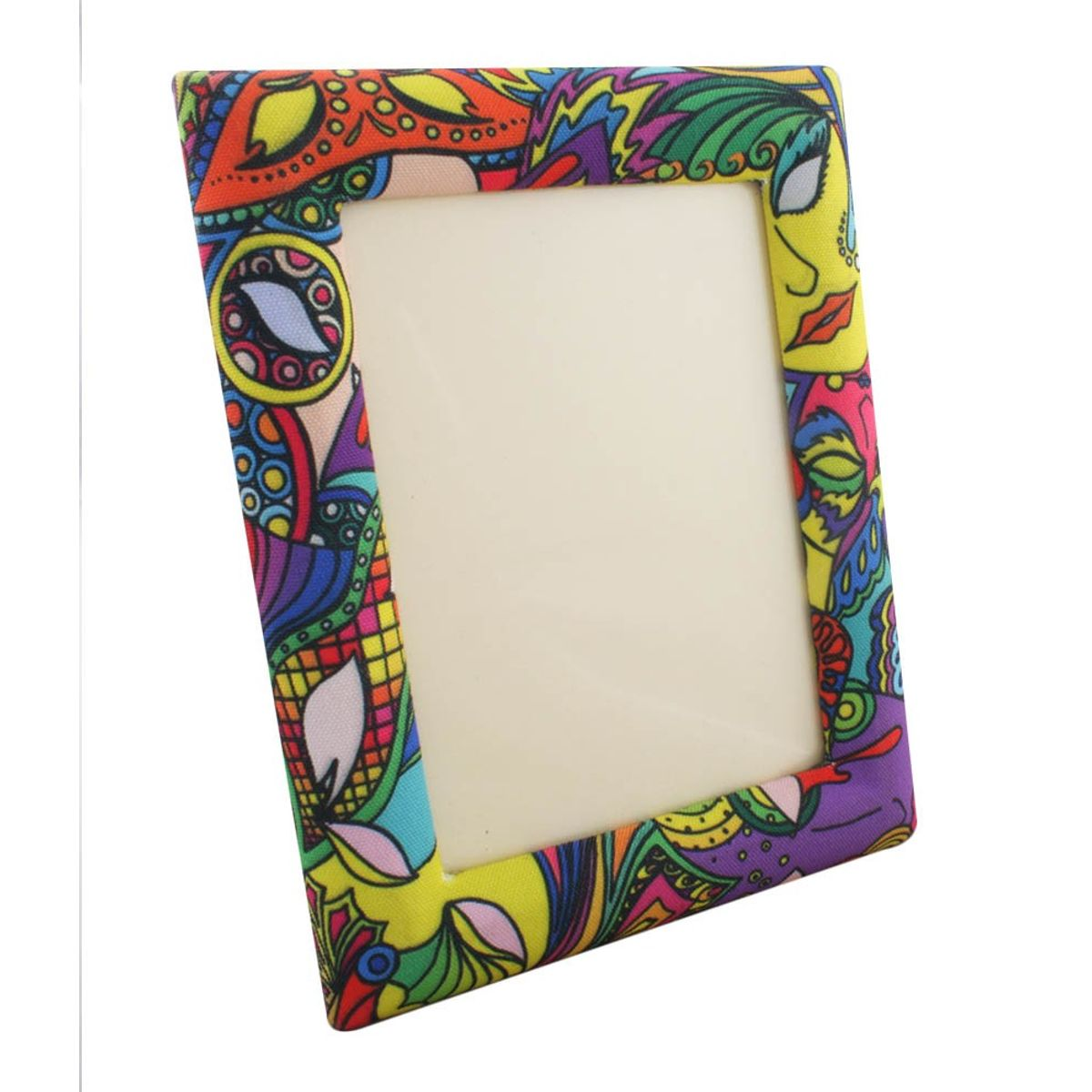Mardi Gras photo frame
