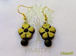 Terracotta Jewelry - Terracotta Earring TEB105g