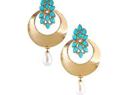 Rich Lady Firoza Designer Earring