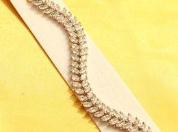 Silver Marquiese Elegant Bracelet